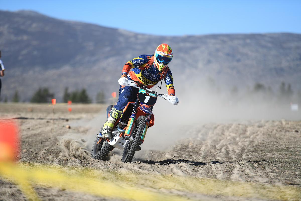 Alfie Cox Ross Branch Toyota Desert Race