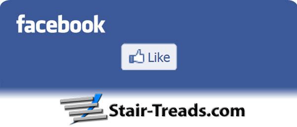 Like Stair-Treads.com on Facebook