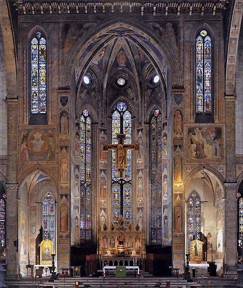 The Bascillica of Santa Croce, Florence
