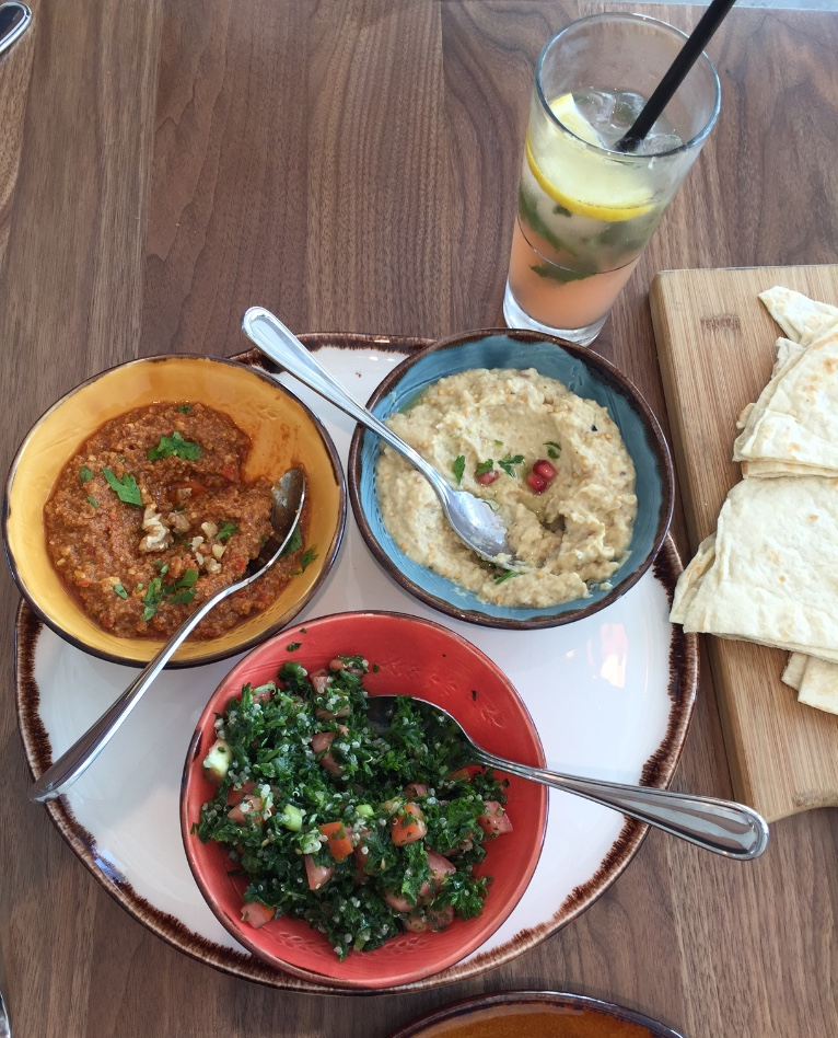 delicious food from Souk Tabule - now open at 500 Front St E