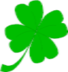 St Patricks Day lucky shamrock