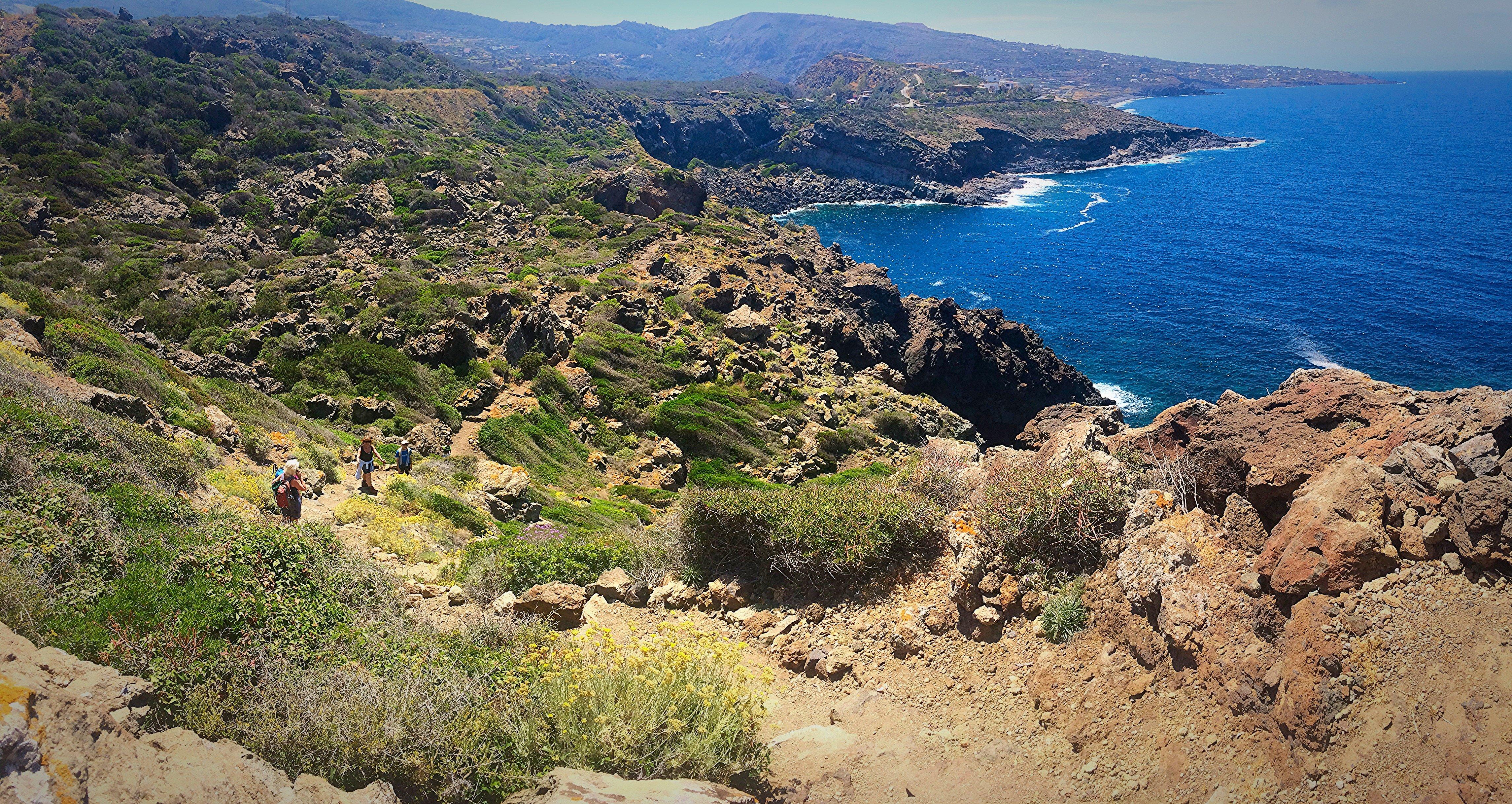Pantelleria - Costone lavico Cala Cottone