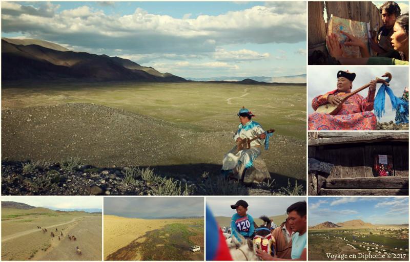 Roadtrip Anthologie dans la steppe