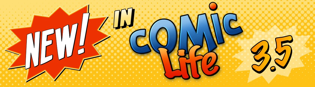 New in Comic Life 3 by plasq