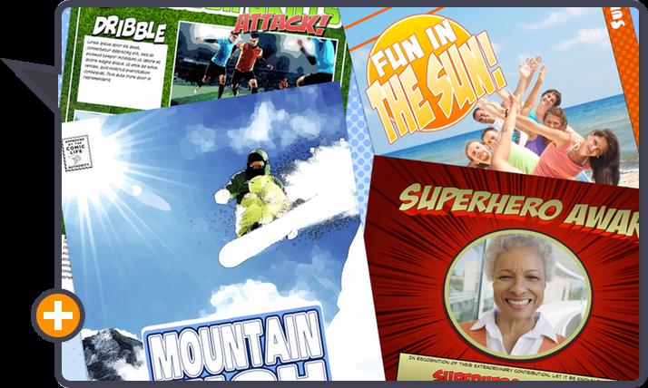 Comic Life 3.5 by plasq: New templates!