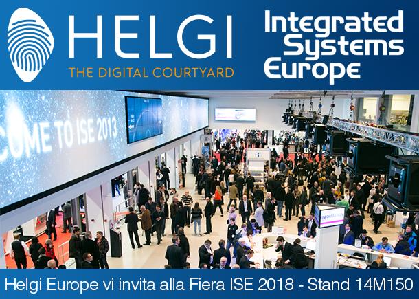 Ligra sarà presente ad ISE 2018 presso lo stand HELGI