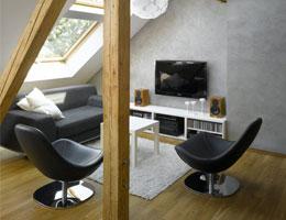 mini-loft a Praga