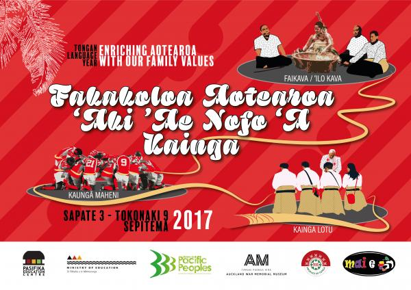 Tonga language week poster