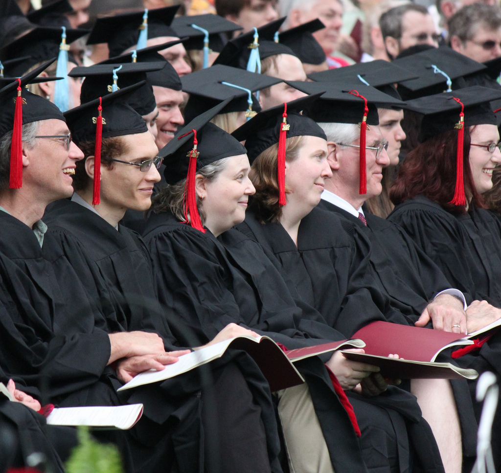 Class of 2012 during Commencement
