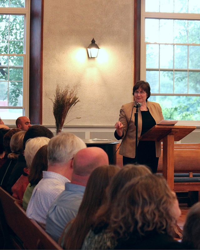 Susan Yanos delivers the 2012 Baccalaureate address