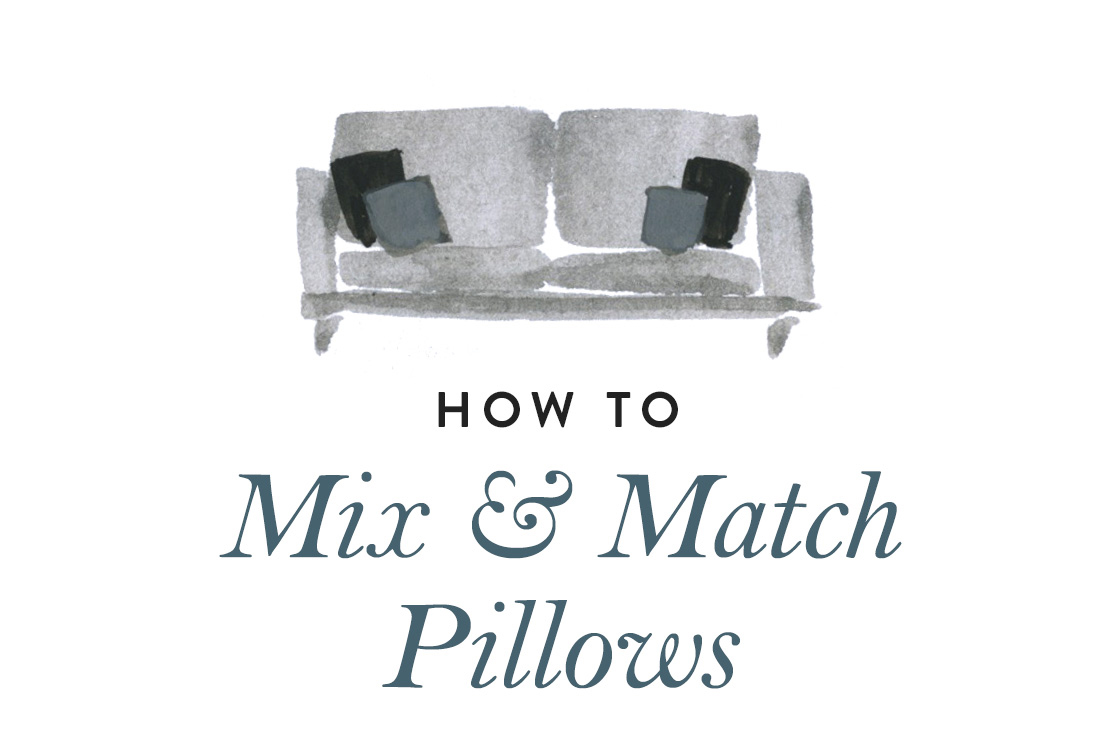 How to Mix and Match Pillows!