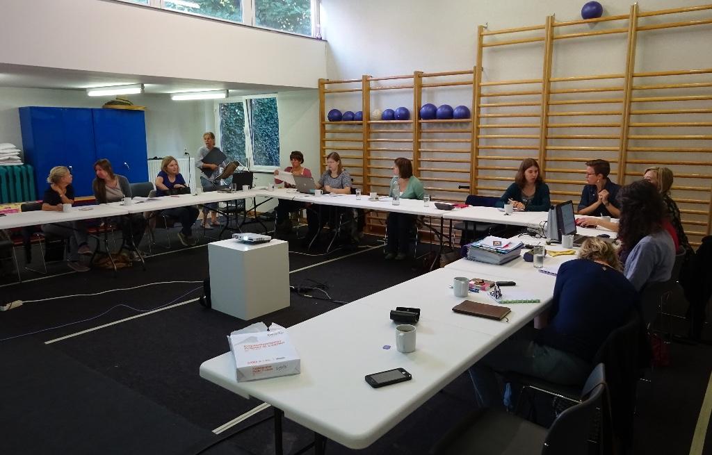 Foto van de conferentiezaal van de kennisweek Revalidatie