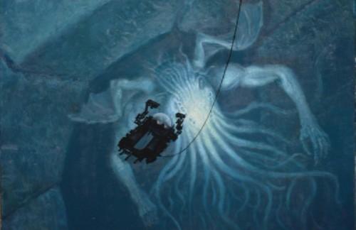 ARMAND CABRERA. In Sunken R'yleh, Dead Cthulhu Lies Dreaming