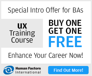 Special Intro Offer for BAs