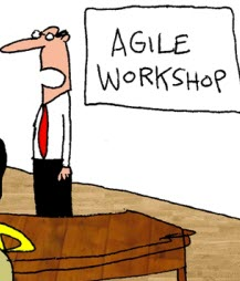 Humor: Asking Questions in an Agile Workshop