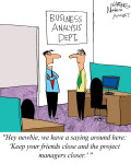 Humor: Advice for the New Business Analyst
