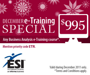 December e-Training Special