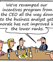 Humor: Business Analyst Incentives Program