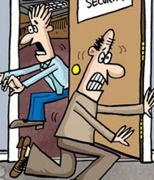 Humor: Reactive vs. Predictive Data Security