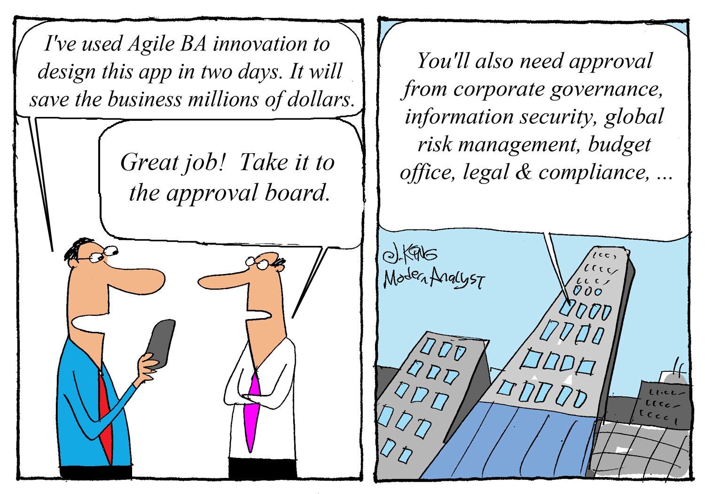 Humor: Agile BA Innovation.. (un)leashed..