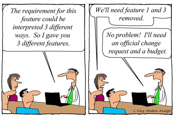 Humor: Requirements Can Be Interpreted Many Ways....