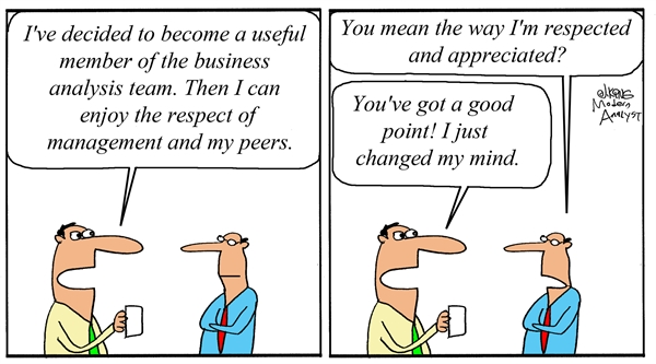 Humor: Respect for Business Analysts