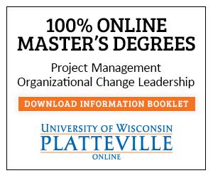 100% online Master's Degrees in Project Management & Organizational Change Leadership. Download information booklet.