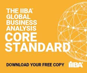 The IIBA Global Business Analysis Core Standard