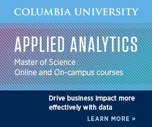 Applied Analytics - Masters of Science; Online and On-campus courses