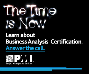 Learn about Business Analysis Certification - Answer the call