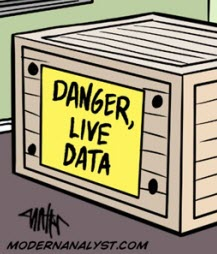 Humor: The Danger of Live Data