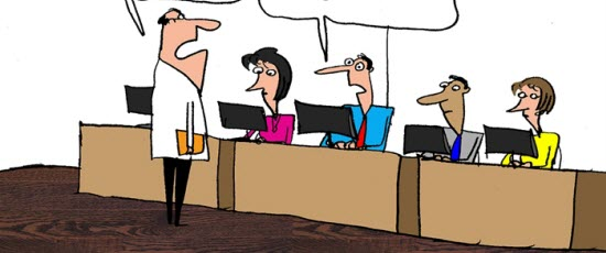Humor: Executive Tech Talk?