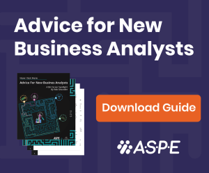 Advice for New Business Analysts