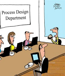 Humor: Working Lunch for Process Design