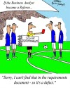 Humor: World Cup: If the Business Analyst became a referee...