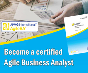 Agile Business Analysis guidance and certification