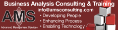 AMS - Business Analysis Consulting & Training