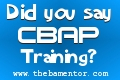 Did you say CBAP Training?