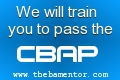 We will train you to pass the CBAP