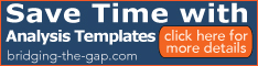 Save Time with Analysis Templates