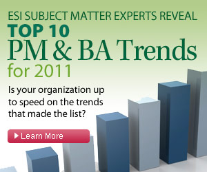 Top 10 BA Trends for 2011