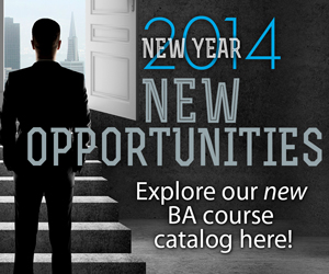 Our New BA Course Catalog