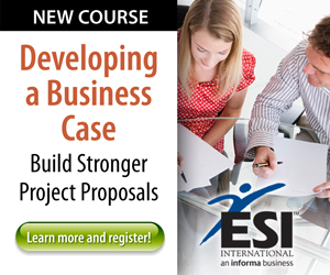 ESI - Developing a Business Case