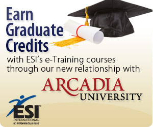 Earn Graduate Credits from ESI through Arcadia University