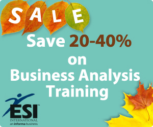 Business Analysis Training - Sale