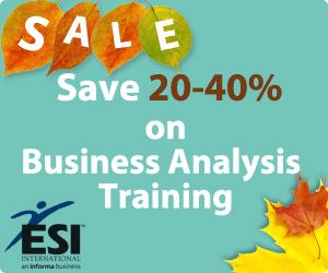 Business Analysis Training - Sale