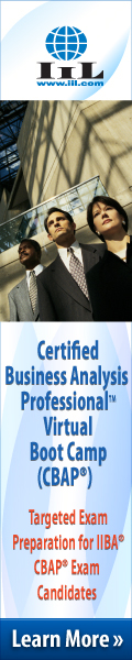 Business Analysis Webinar Package