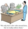 Humor: How many Business Rules does a business need?