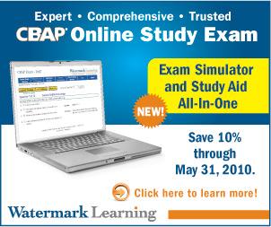 CBAP® Online Study Exam