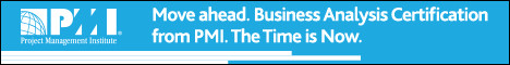 Move ahead. Business Analysis Certification from PMI.